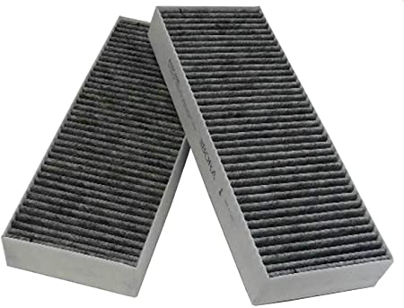 Bora filtros de carbón activado-Set(2 pcs) BAKFS para campana extractora para Bora basic de gatillo BIU/BHU: Amazon.es: Hogar