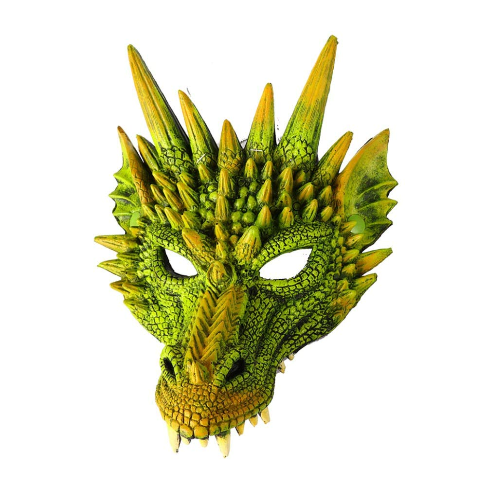 Forart Kids Fantasy Halloween Dinosaurio Dragon Costume Child Animal Mask Wing Tail Accessory for Halloween Party