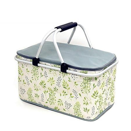 Qiuoorsqurp La bolsa de picnic al aire libre de la familia 32L, el ...