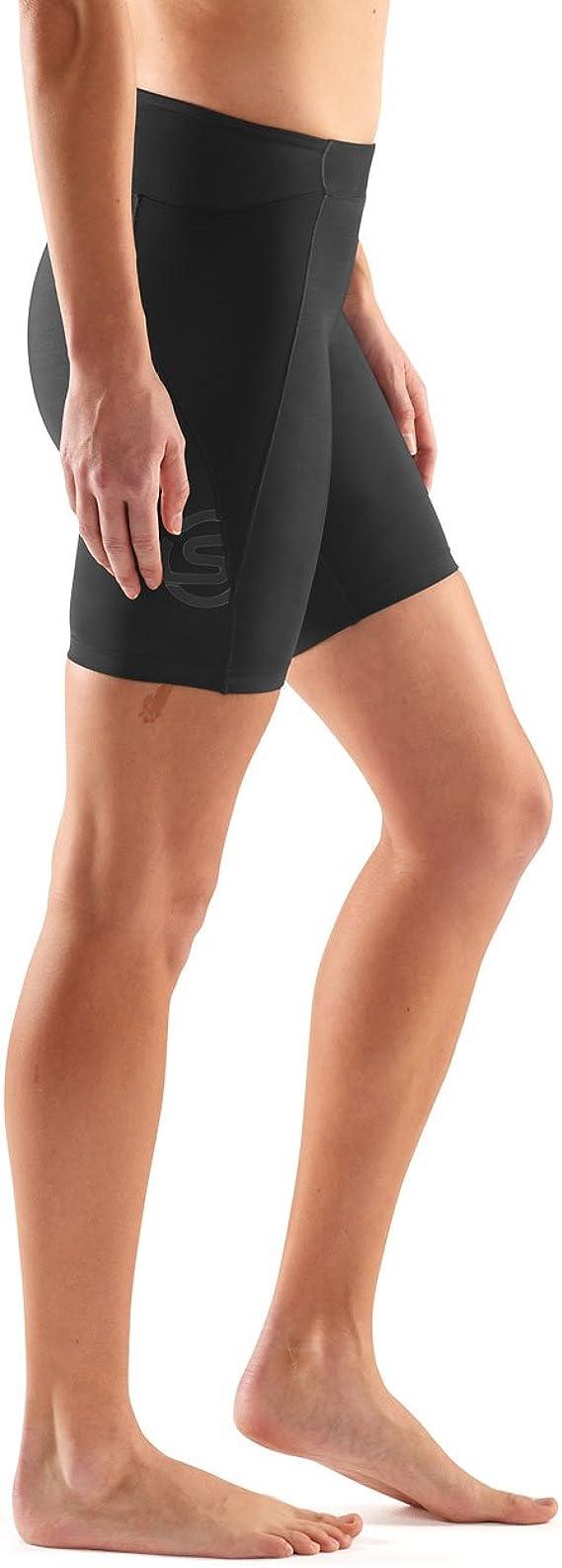 Skins Dnamic Short de compression 2 en 1 Femme