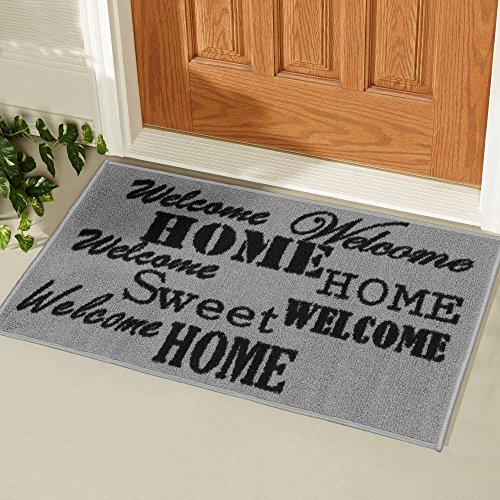 Ottomanson Doormat Collection Rectangular Sweet Home Doormat, 20