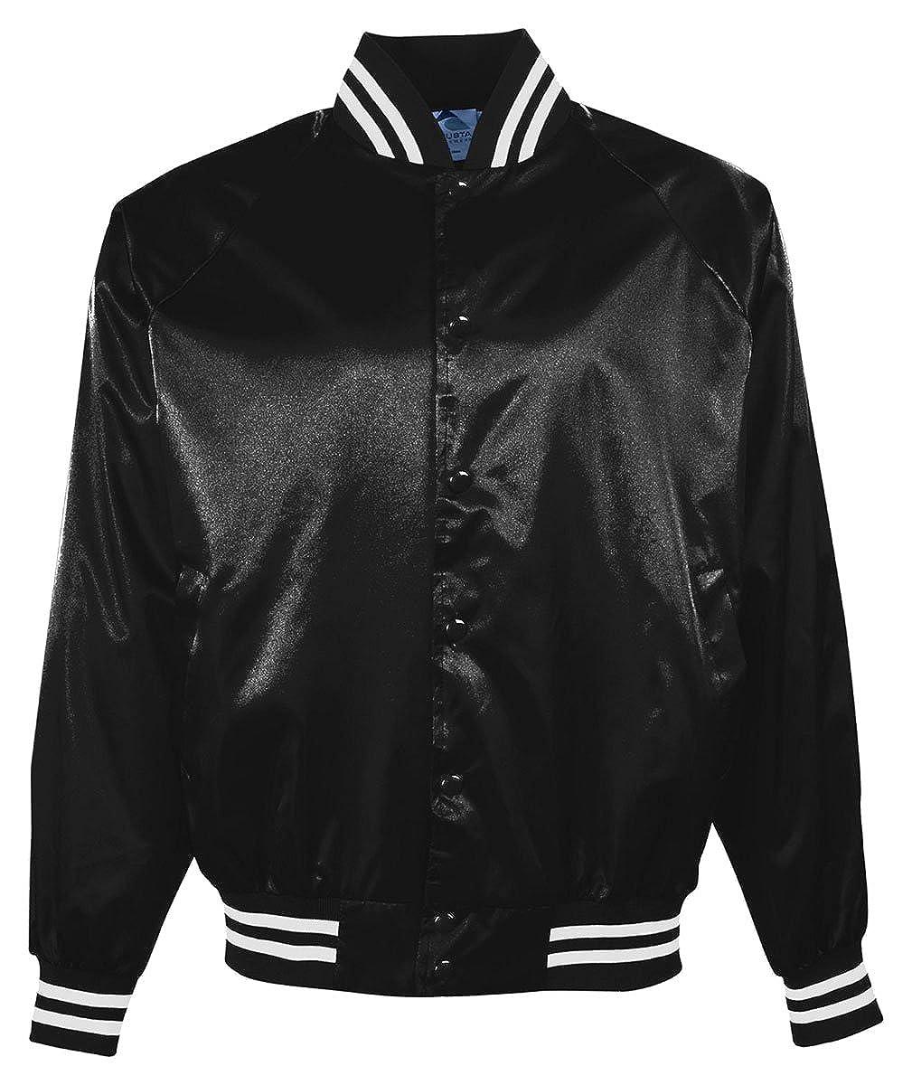 Augusta Sportswear Big Boy's Satin Baseball Jacket 3611