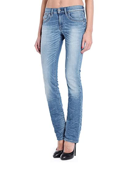 803dc92a Diesel Ronhoir 0839Y Stretch Women's Jeans Trousers Bootcut: Amazon.co.uk:  Clothing