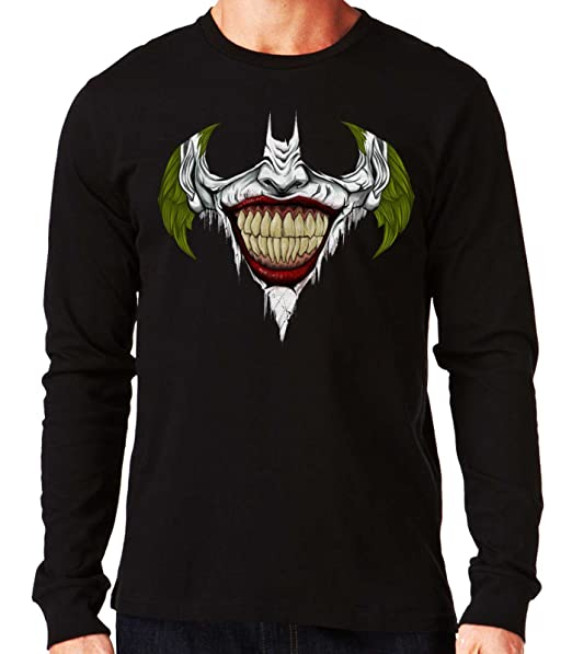 35mm - Camiseta Manga Larga Joker Batman Symbol, Hombre: Amazon.es: Ropa y accesorios