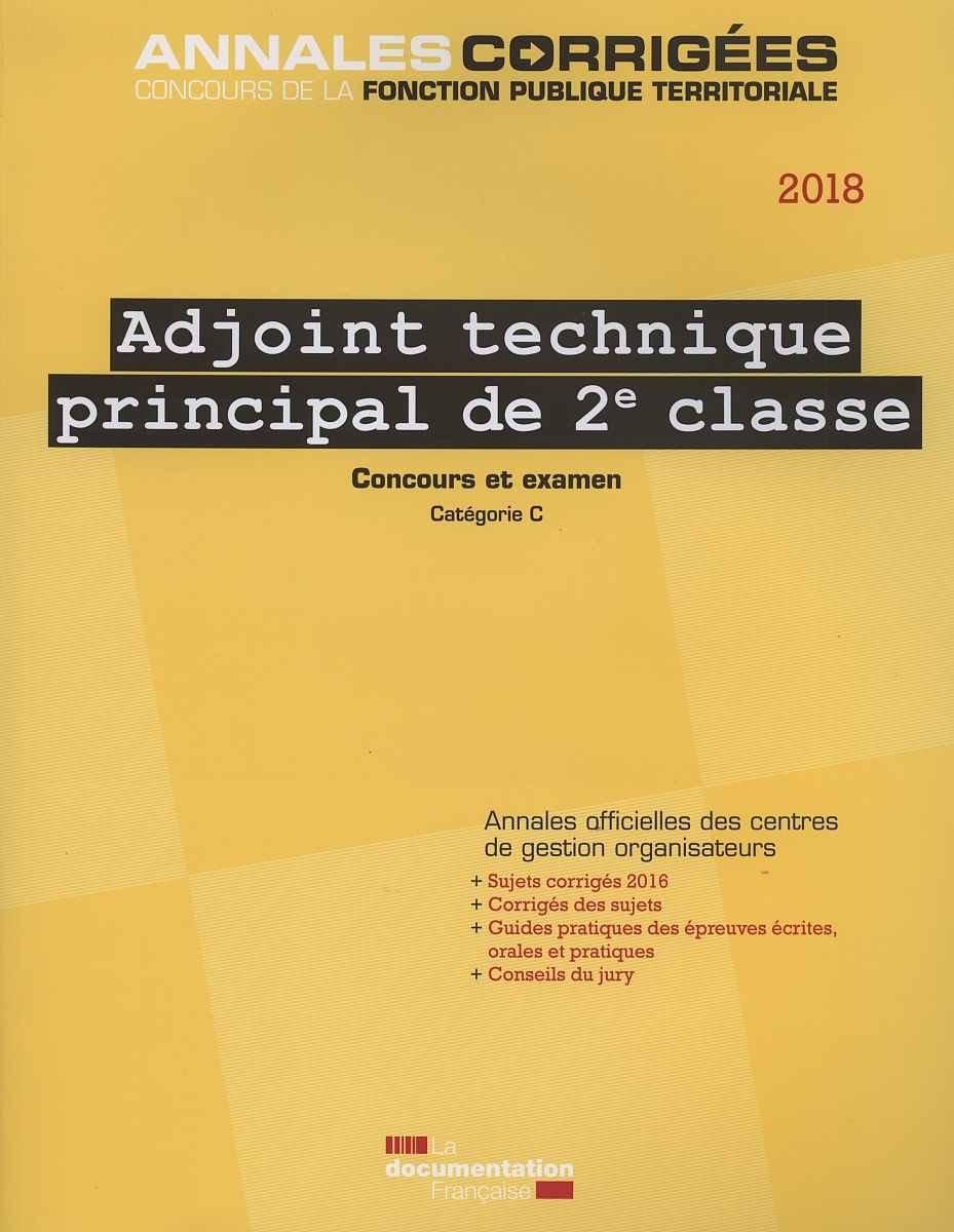 Adjoint technique - Grille technicien territorial ...