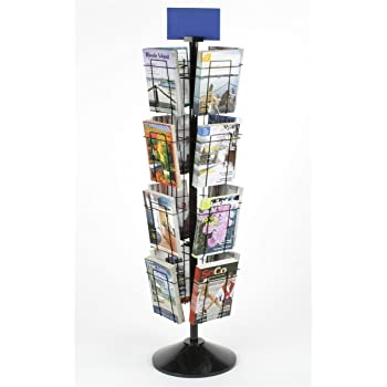 Greeting card display stand with 24 5 x 7 pockets for countertop greeting card display stand with 24 5 x 7 pockets for countertop use m4hsunfo