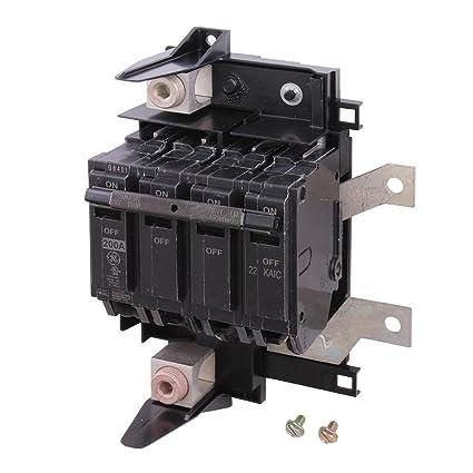 ge powermark gold 200 amp double pole main circuit breaker rh amazon com