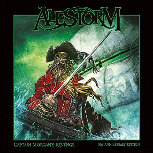 CD : Alestorm - Captain Morgan`s Revenge - 10th Anniversary (Anniversary Edition, 2 Disc)