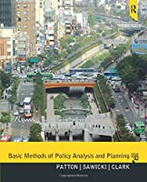 Basic Methods of Policy Analysis and Planning, 3rd Edition Front Cover