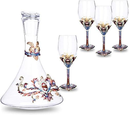 LSA 1.5L caraffa per vino e bicchieri bicchieri per vino