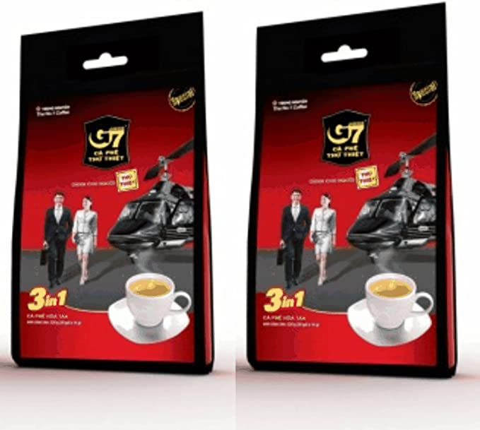 TRUNGNGUYENチュングエンG7インスタントコーヒー〈Coffeemix3in1〉16g*50袋入りベトナムコーヒー×2個セット[並行輸入品]