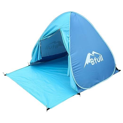 18 opinioni per Bfull Pop Up Tenda da Spiaggia all'aperto con UV Protezione per 1 o 3 Persone,