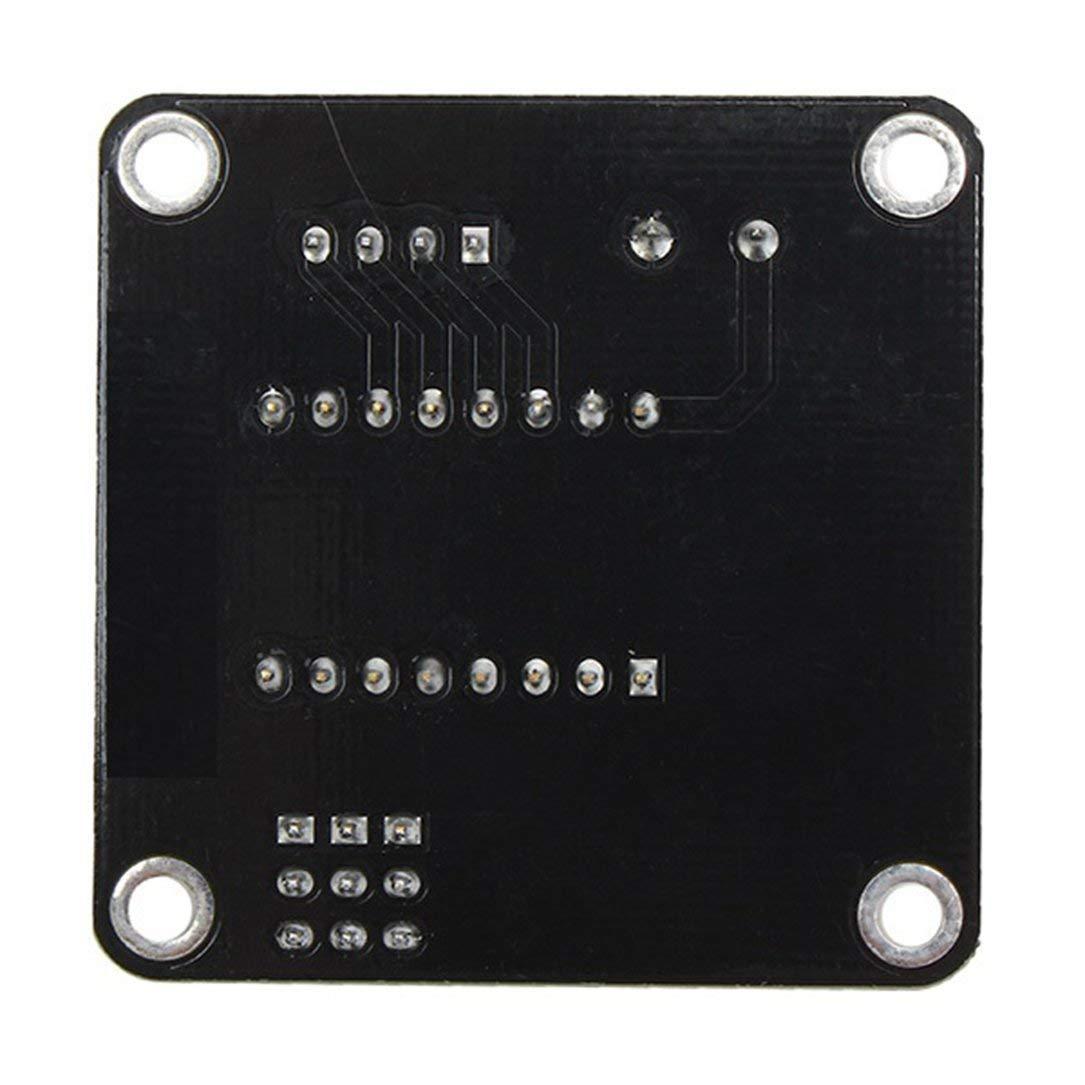 A4988 del protector del conductor del motor de pasos de la impresora 3D de Sairis 42CH negro Placa de expansi/ón DRV8825