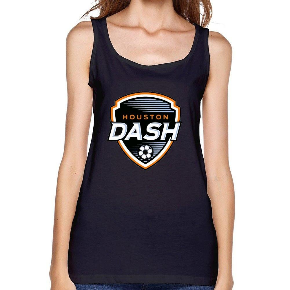 RURER Women's Houston Dash NWSL Logo Vest Tank Tops