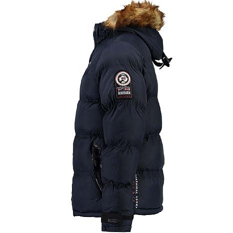 Anorak para hombre Geographical Norway Behar, chaqueta de invierno, chaqueta cálida con forro, tallas S-XXXL: Amazon.es: Ropa y accesorios