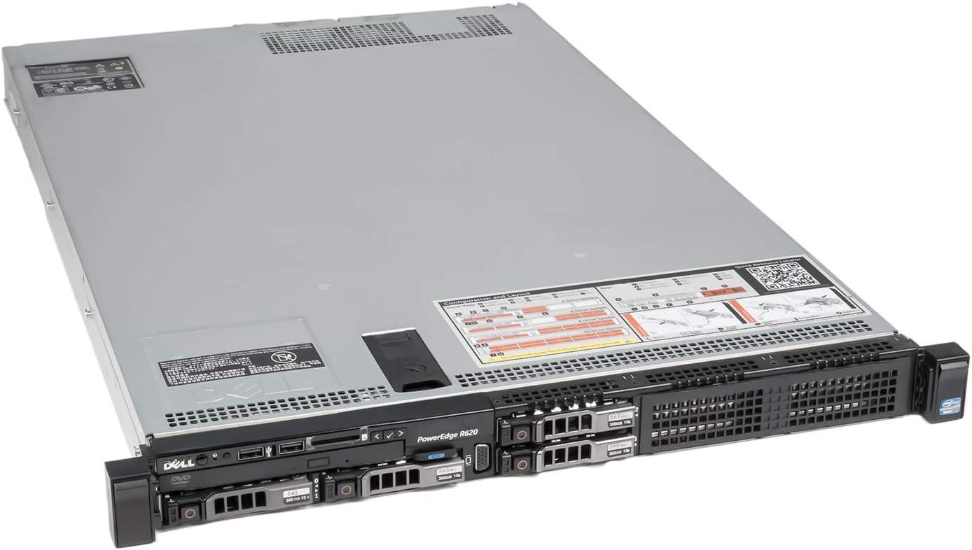 DELL PowerEdge R620 Server 2X 2.00Ghz E5-2620 6C 32GB Economy (Certified Refurbished)