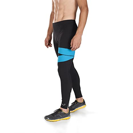 241259097b2 Buy BioSkin Mazama Compression and Running Tights - Black Corsica Online at  Low Prices in India - Amazon.in