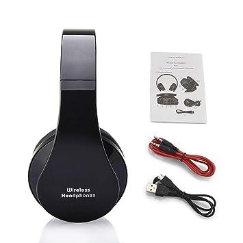 NX-8252 Auriculares inalámbricos Profesionales Plegables inalámbricos del Auricular del Efecto bajo estupendo estéreo de