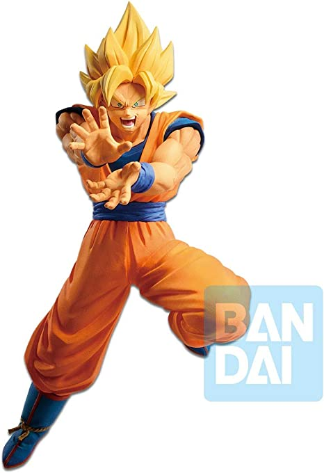 Banpresto Figurine Dbz Super Saiyan Son Goku Android Battle 20cm 3296580827336 Amazon De Spielzeug