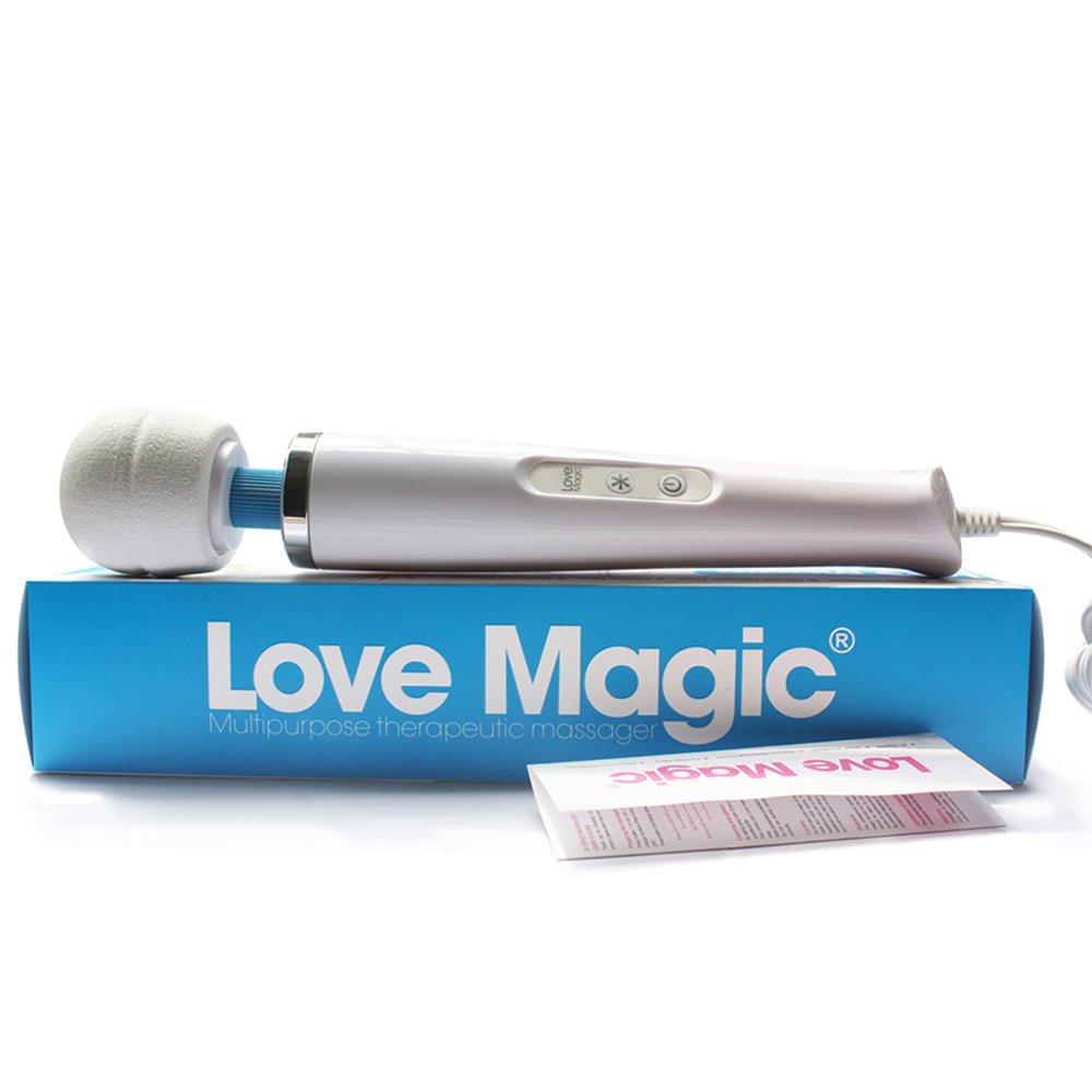 Amazon.com: 13 Inch Magic Wand 20 Speed Powerful Plug-In Vibrator, Multi  Purpose Therapeutic Massager, Quiet Motor, White: Health & Personal Care