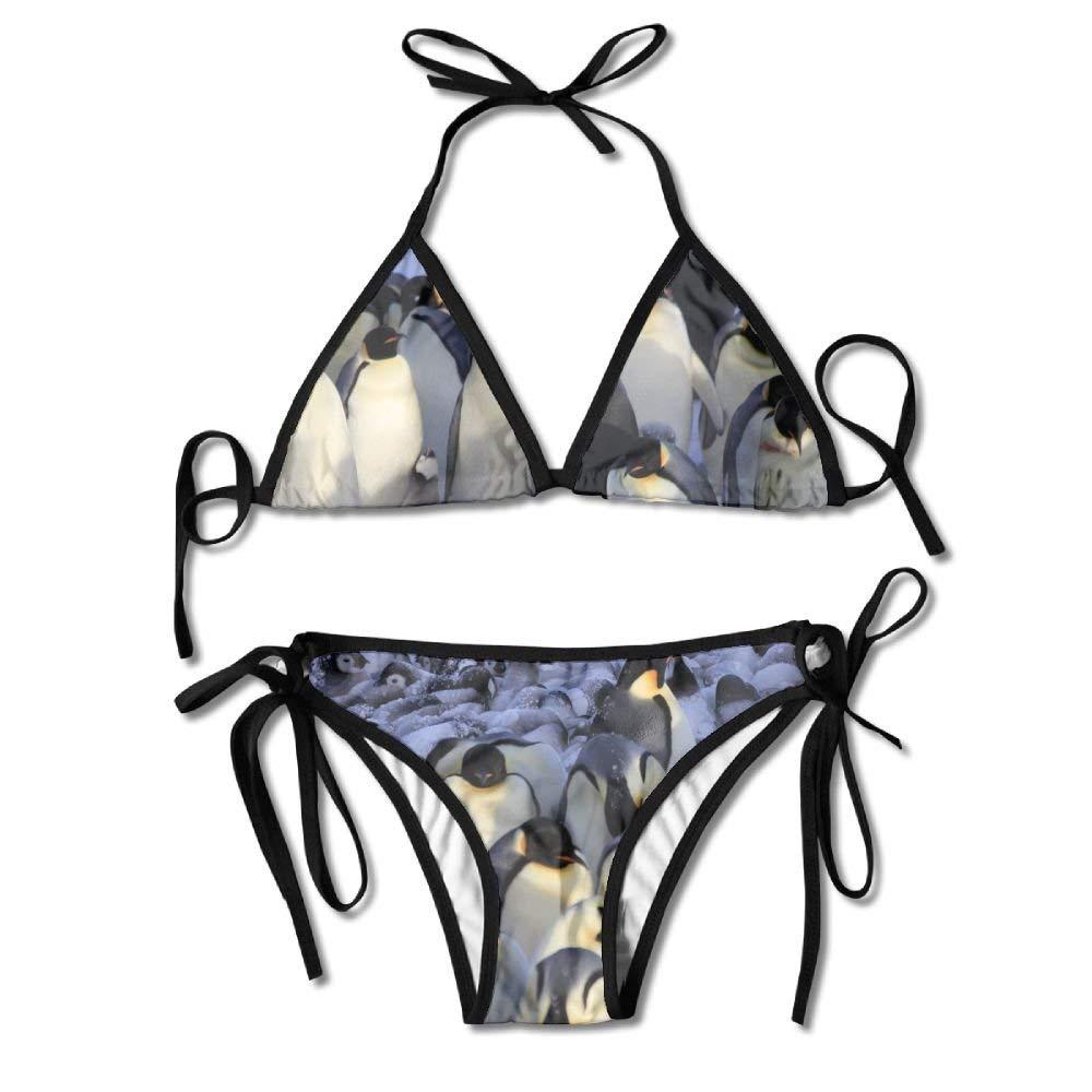 Patrón de pingüinos del Polo Sur Conjunto de Bikini Sexy para ...