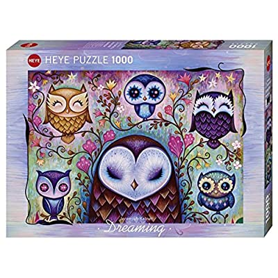 Heye 29768 Great Big Owl Puzzle (1000-Piece): Toys & Games