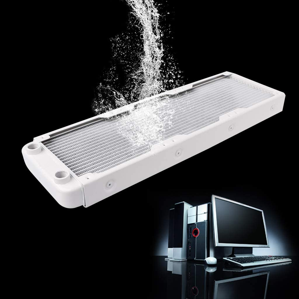 Sarora 360mm Aluminum Computer Radiator Water Cooler 18 Tube CPU Heat Sink Exchanger