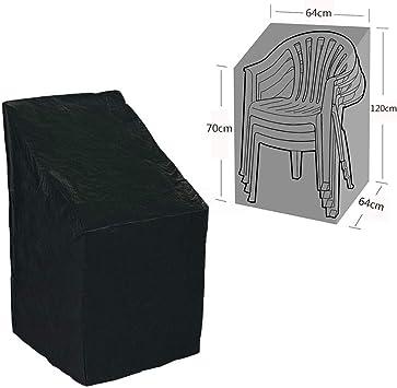 Funda de protección para sillón y sillas apilables – para muebles de jardín, funda protectora, manta de patio: Amazon.es: Bricolaje y herramientas
