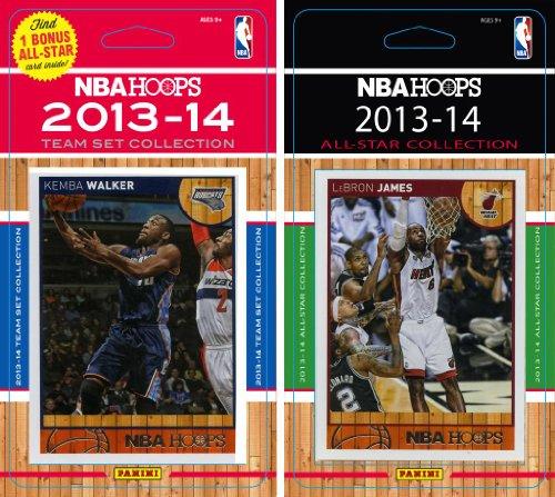 - NBA Charlotte Bobcats Licensed 2013-14 Hoops Team Set Plus 2013-24 Hoops All Star Card Set