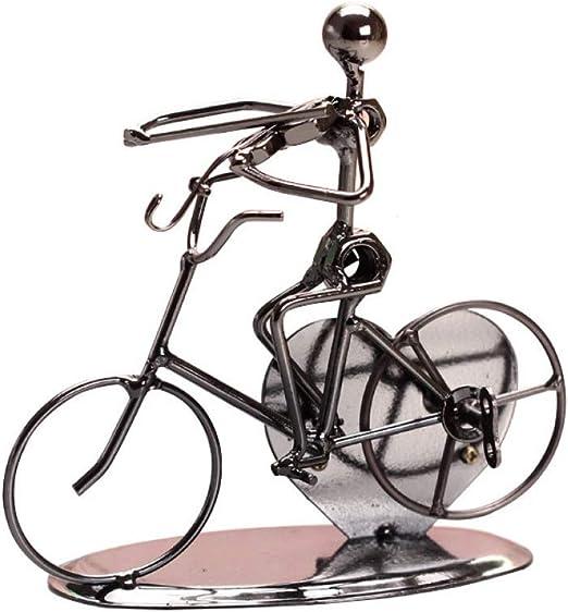 FAE&MGJ Escultura Metal Iron Man Bicicleta Music Box Castle To ...