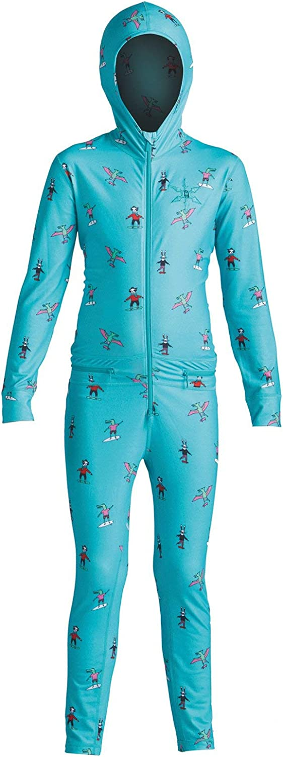 AIRBLASTER Kids' Youth Ninja Suit Hooded Outdoor One Piece Base Layer