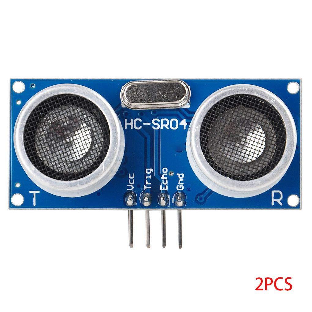 Topker 2PCS HC-SR04P 3-5.5V Distance de Mesure Modules capteurs é lectroniques compatibles pour Arduino