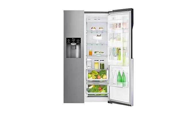 Side By Side Kühlschrank Richtig Aufstellen : Lg electronics gsj pzuz side by side kühlschrank a cm