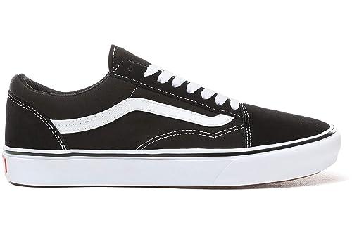 da191fd2b58 Vans ComfyCush Old Skool Shoes (Classic) Black True White  Amazon.co.uk   Shoes   Bags
