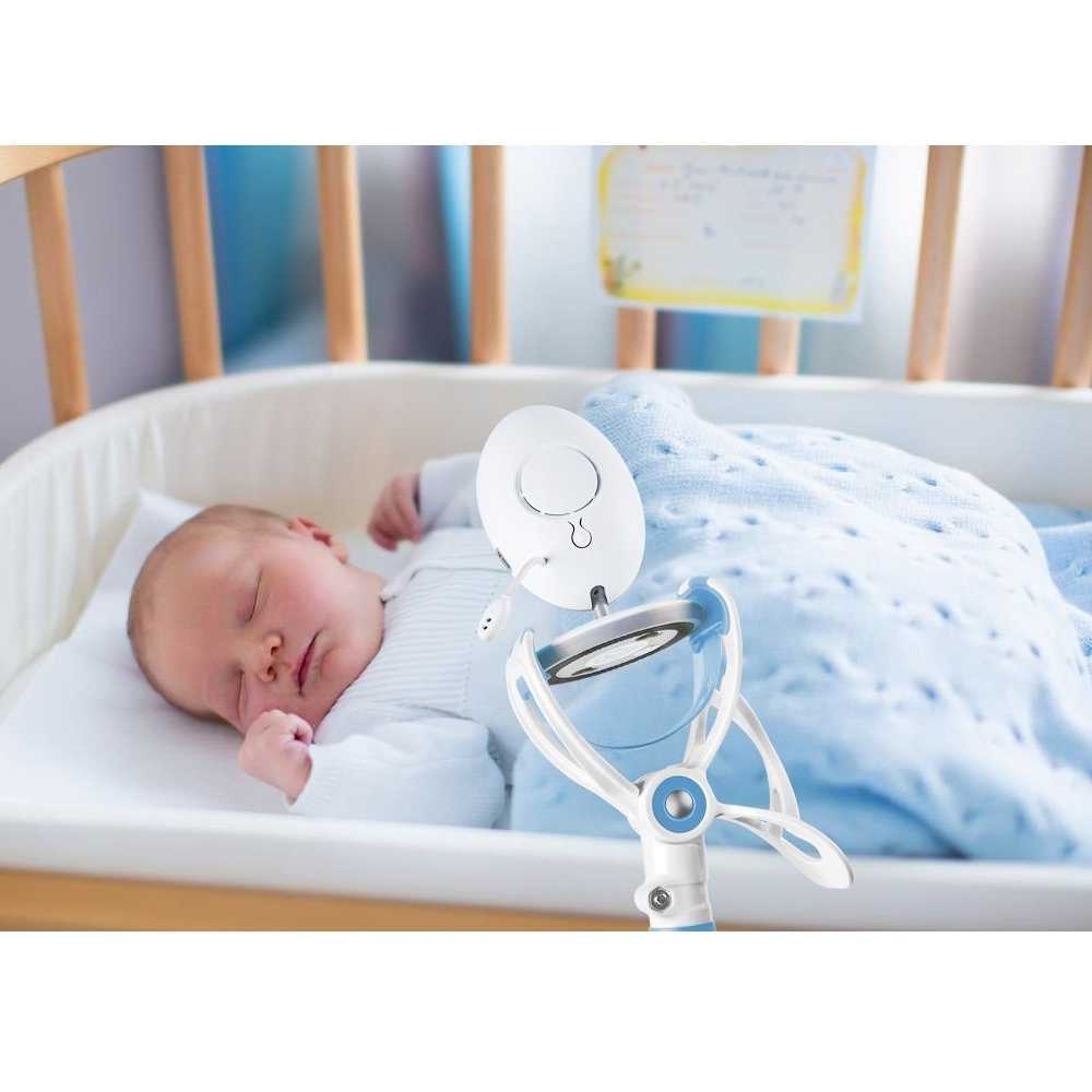 Universal Baby Camera Holder Aocool Cribs /& Nursery Beds Cup Clip Holder,Infant Video Monitor Holder and Shelf,Nursery Compatible with Most Baby Monitors and Nursing Bottle Baby Bottles Holder