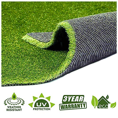 Fas Home Artificial Grass Turf 2FTX10FT(20 Square FT),0.8