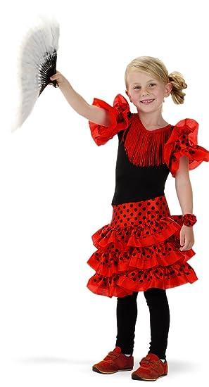 Folat 21827 español Flamenco de la niños Disfraz (tamaño 98 ...