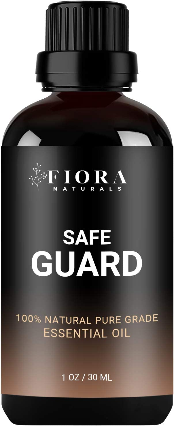 Safeguard Immunity Essential Oil Blend - Thieves and Robbers Protective Aid -  Natural Germ Fighter - Immune Support Blend on Guard Against Germs -  Diffuse or Apply- Health Shield by Fiora Naturals