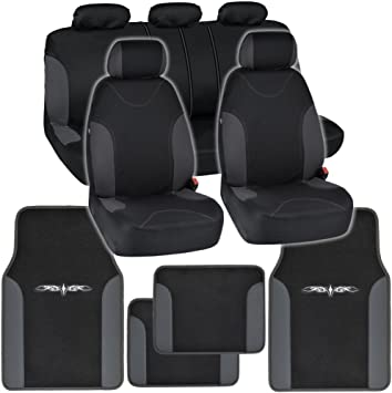 Car Seat Protector Seat Cover Mat for Under Car Seat Covers Entire Seat