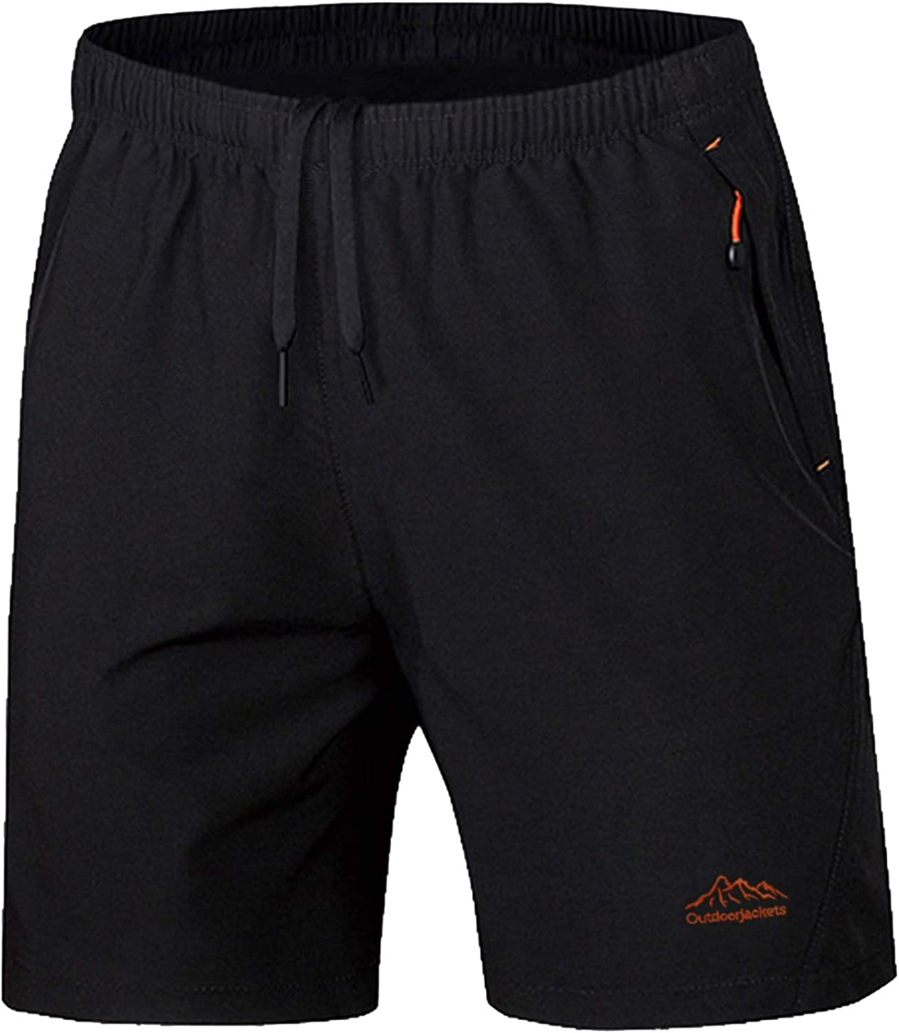 KEFITEVD Mens Workout Shorts Quick Dry Running Shorts Lightweight Outdoor Shorts with Pockets