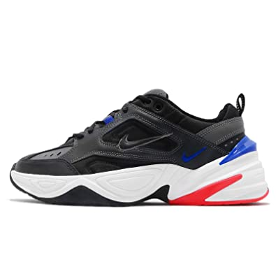 online retailer c4883 cc389 Nike Men s M2K Tekno, Dark Grey Black -Baroque Brown -Racer Blue,