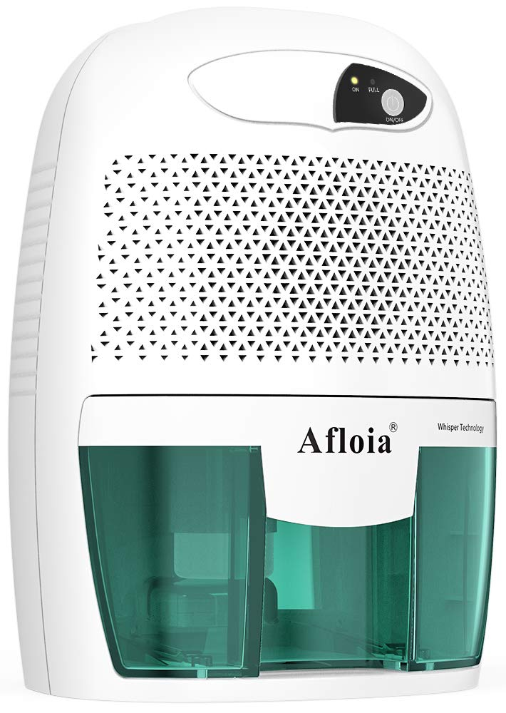 Afloia Portable Dehumidifier for Bathroom,1500 Cubic Feet Electic Mini Home dehumidifier for Home Deshumidificador Dehumidifier for Bathroom Baby Room Space Bedroom RV Basement Caravan Office Garage by Afloia