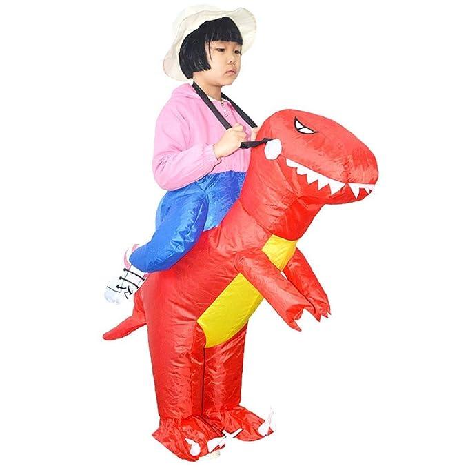Amazon.com: Disfraz hinchable de dinosaurio para niños ...