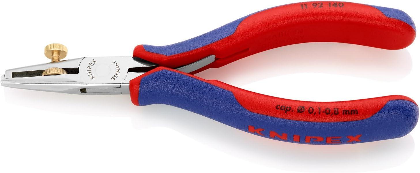 """B000XUQQQ4 Knipex, 11 92 140, 5-1/2"""" Electronics Wire Stripper, Ergonomic Grip 61HCF5gO-bL.SL1500_"""