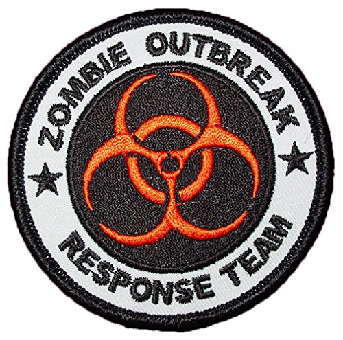 single-count-custom-and-unique-3-inch-quarantine-round-bio-hazard-zombie-response-team-iron-on-embro