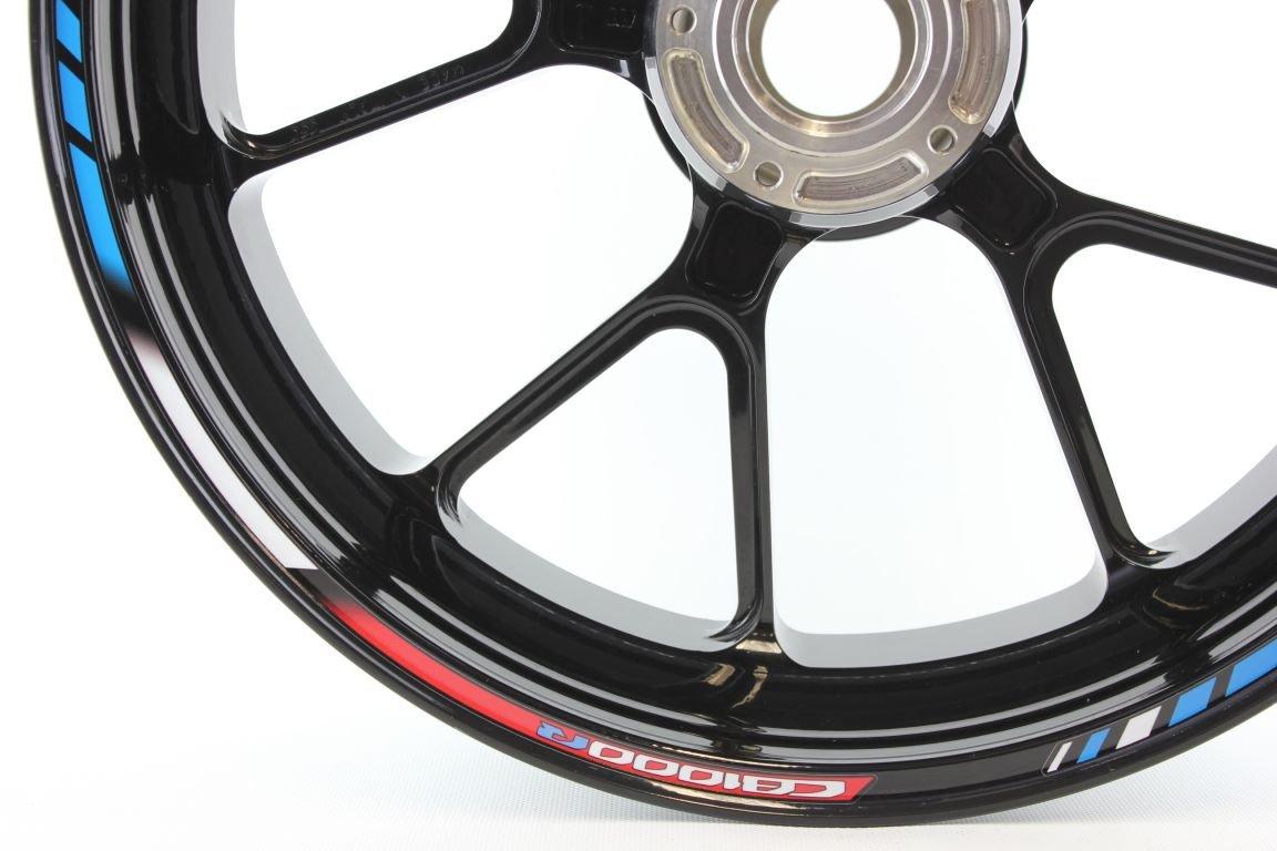 Liserets de Jantes SpecialGP Moto Honda CB 1000R HRC Bleu Autocollants