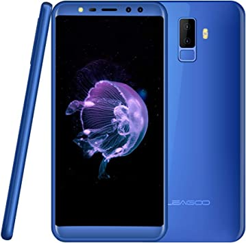Moviles Libres Android Leagoo M9,Smartphone Libre 5.5 Pulgadas Dual Sim 3G,16GB telefono movil con Huella Dactilar,8MP Camera,2850mAh Batería, MT6750T Octa-Core, WiFi Bluetooth,Azul: Amazon.es: Electrónica