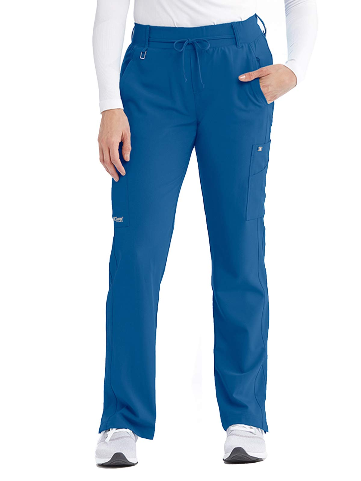 Grey's Anatomy Signature Olivia Pant for Women– Super-Soft Medical Scrub Pant