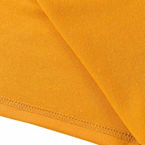 Cappuccio Cappuccio Giallo con Lunga Felpa Donna ACVIP 3 per Colori Colori Colori zxptqnw8R