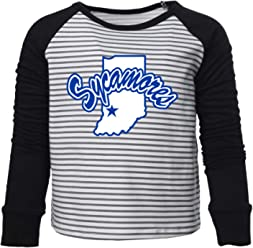 NCAA Indiana State Sycamores PPINS02 Toddler Long-Sleeve T-Shirt